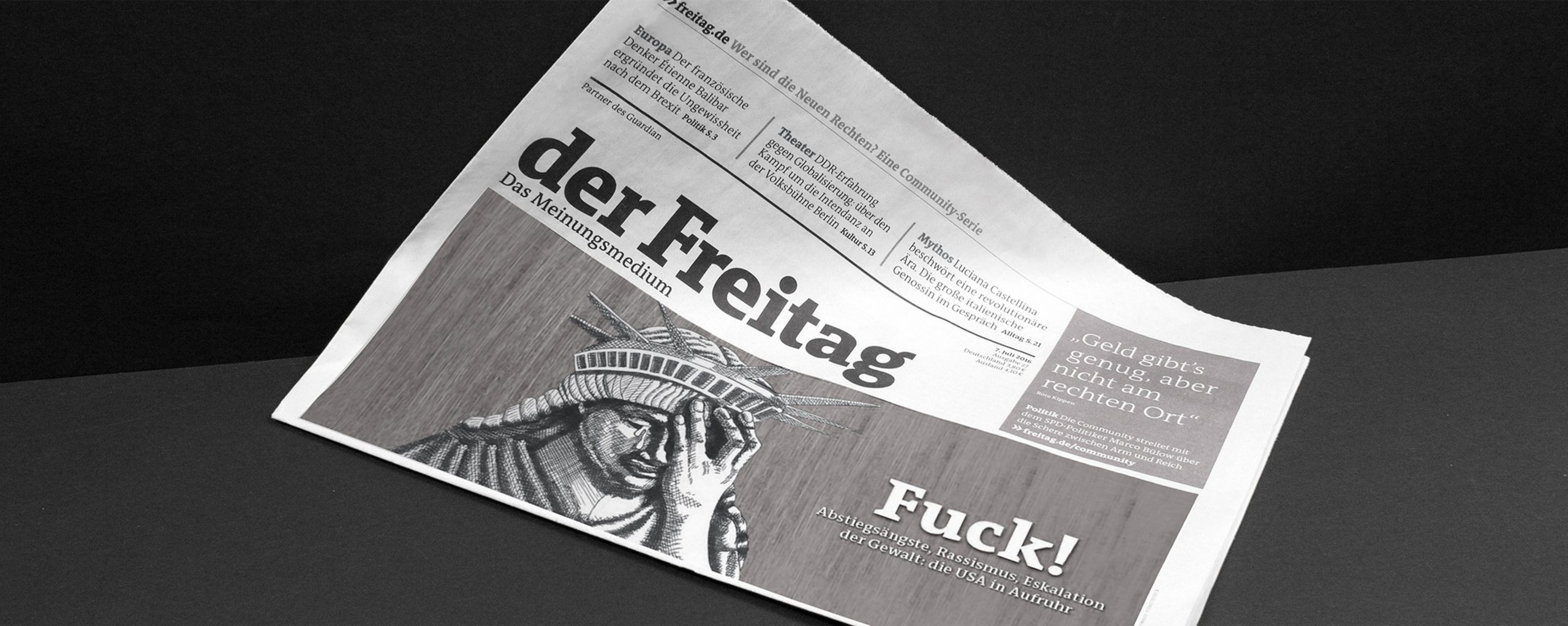 Studio Last - Der Freitag – Newspaper