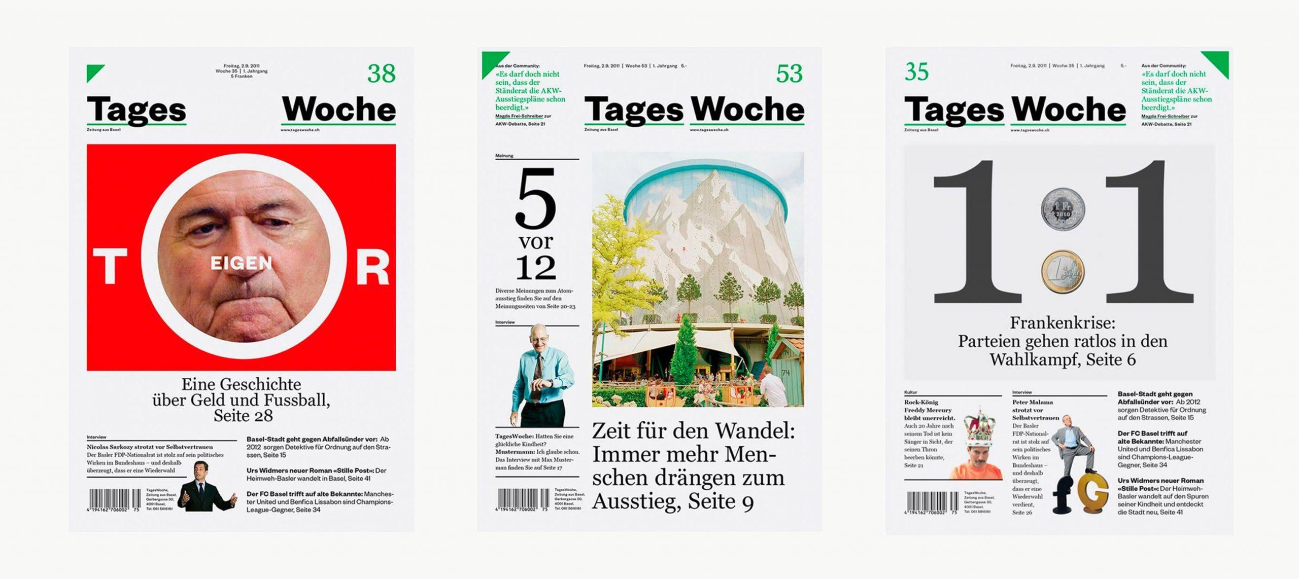 Studio Last - Tageswoche – Newspaper