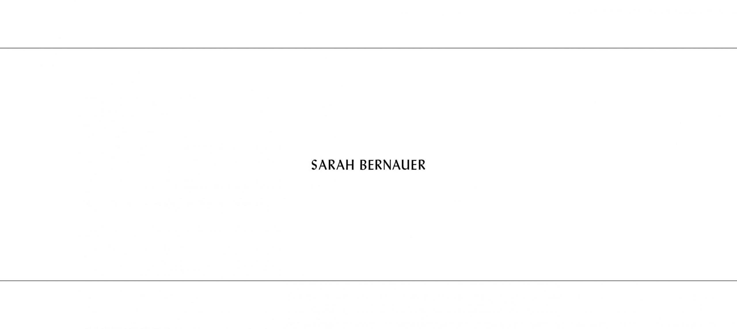 Studio Last - Sarah Bernauer – Website