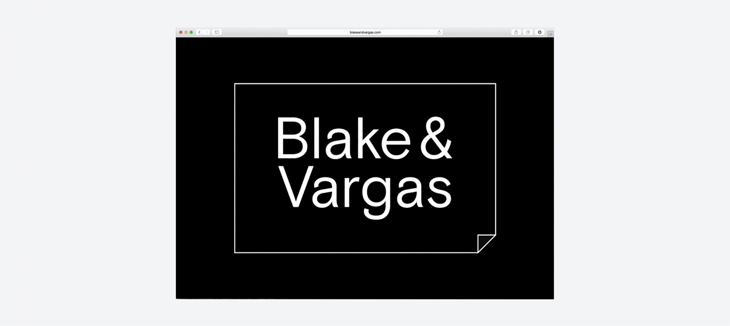 Studio Last - Blake & Vargas – Website