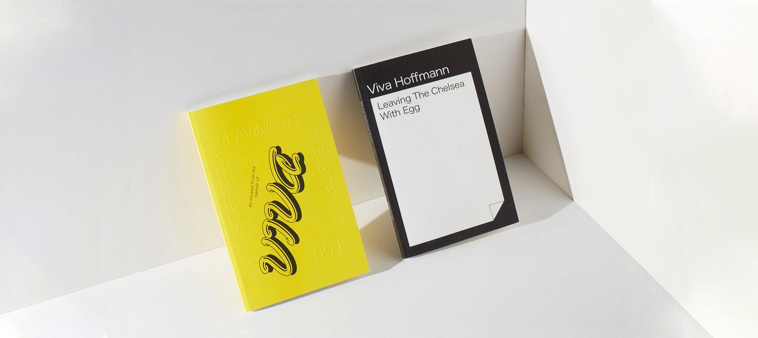 Studio Last - Leaving the Chelsea with Egg by Viva Hoffmann – Book