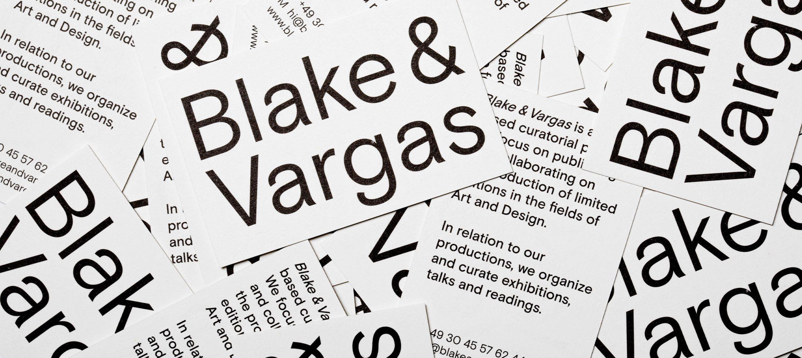 Studio Last - Blake & Vargas – Gallery