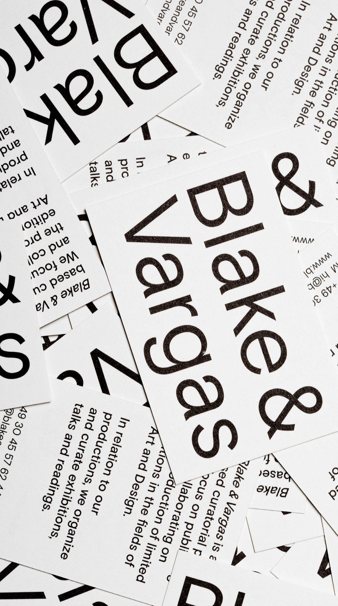 <p>Blake & Vargas, Space for Contemporary Culture – Visual Identity</p>