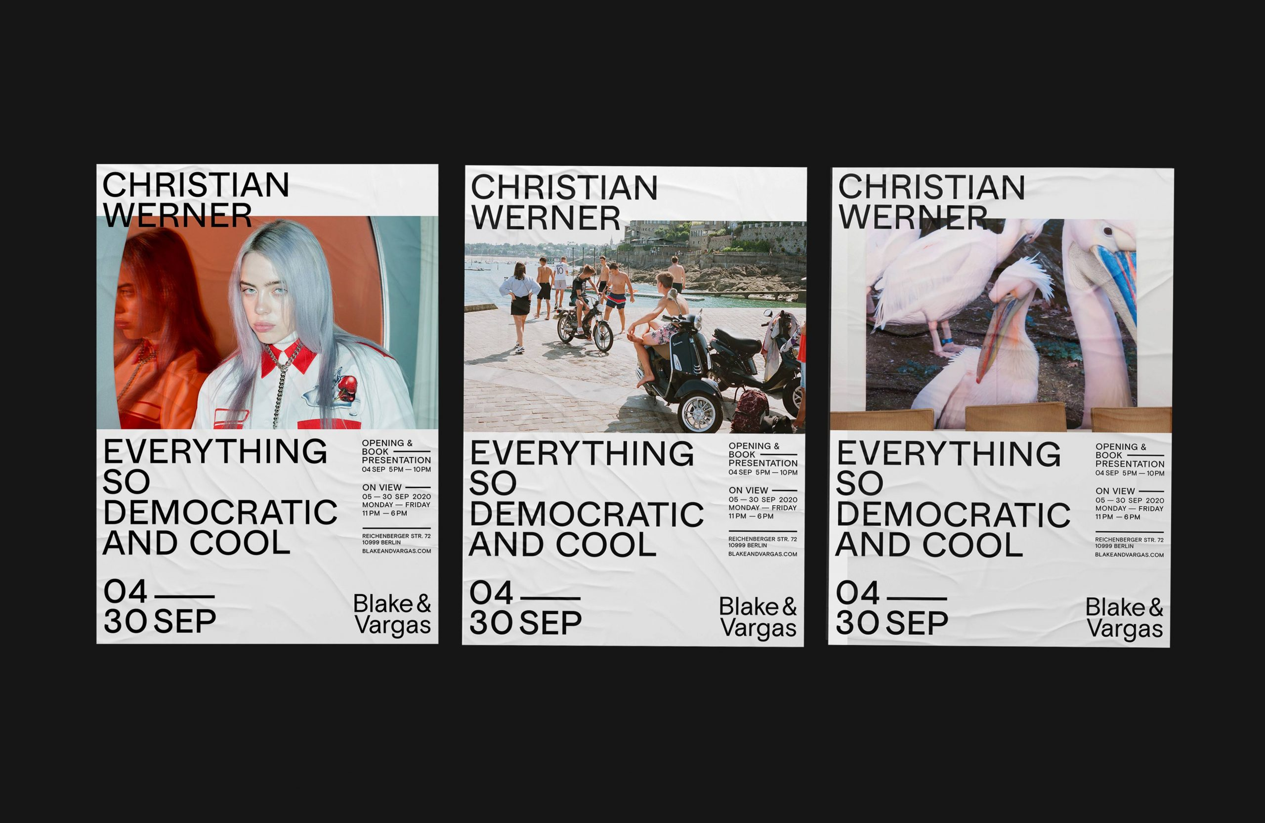 <p>ESDMC – Christian Werner – Exhibition Posters</p>