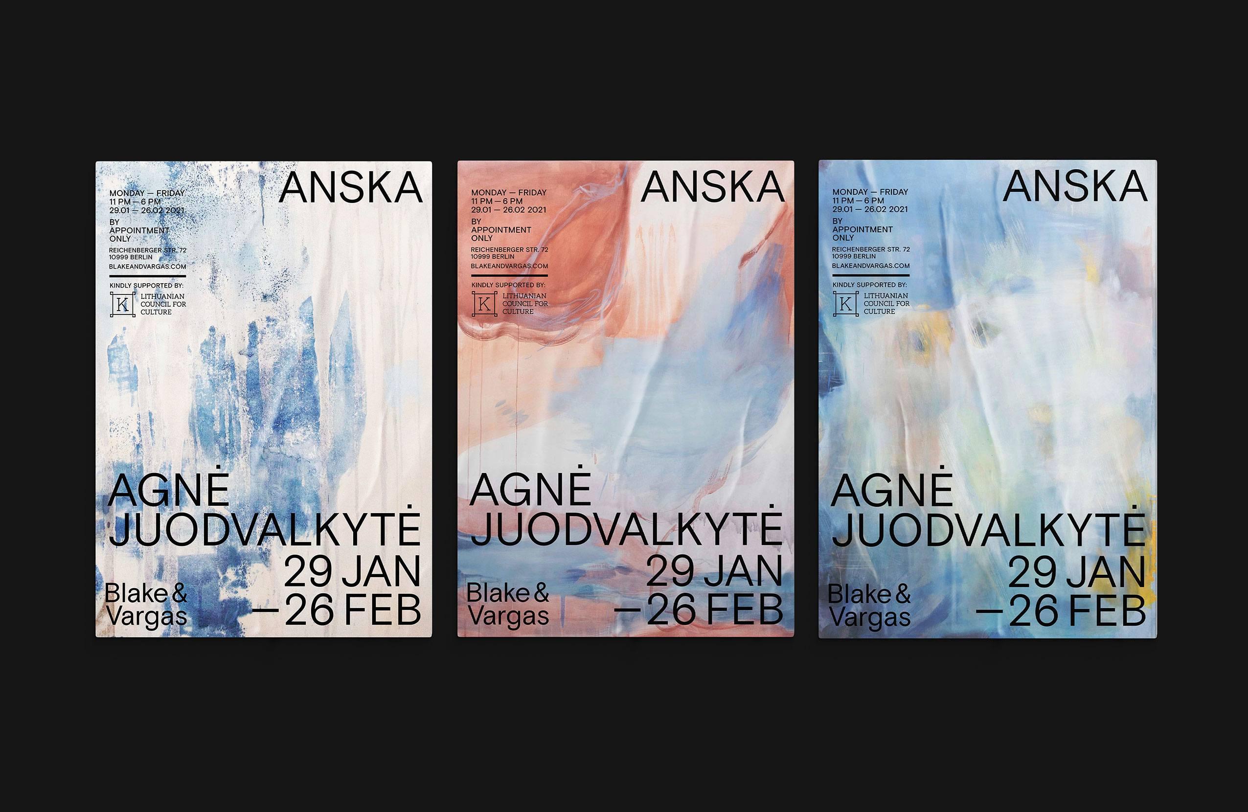 <p><em>AgnėJuodvalkytė</em> / ANSKA – Posters</p>